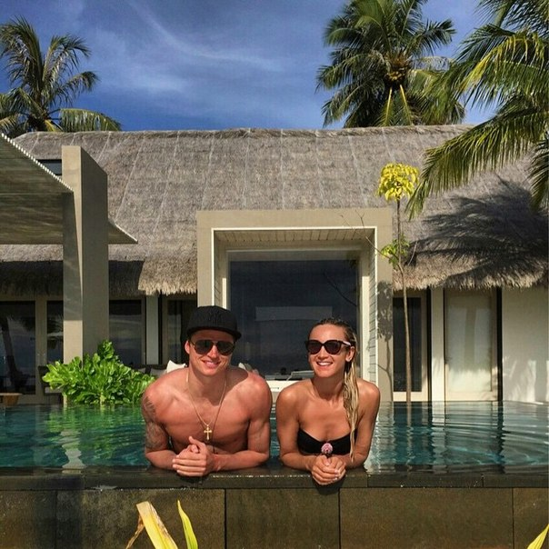 Ольга Бузова с мужем на Мальдивах: фото